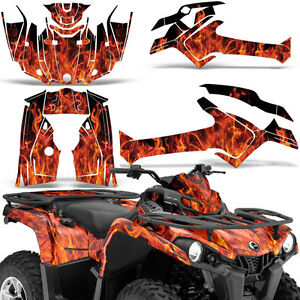 Details About Graphic Kit Can Am Outlander L Max 570450 Atv Quad Decal Wrap 2014 2016 Ice Org