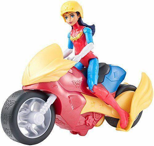 """DVG73 DC Super Hero Girls Wonder Woman Action Figure 6/"""" Doll with Motorcyle"""