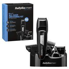 Babyliss Mens 8 IN 1 Grooming Kit Cordless Body Hair Clipper Beard Trimmer 7056