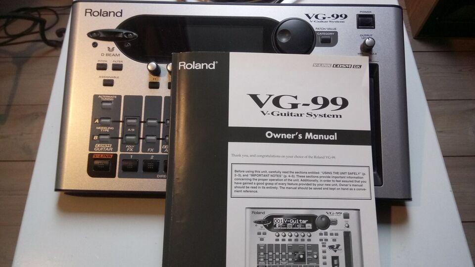 Guitarpedal, Roland VG-99