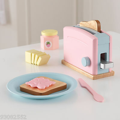 Kidkraft Wooden Pastel Toaster --- Pretend Kitchen Play