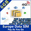 SPANISCHE-PREPAID-SIM-KARTE-SPANIEN-INTERNET-amp-ANRUFE-GO-EUROPE-ORANGE-MUNDO Indexbild 1