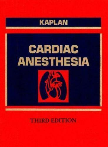 Cardiac Anesthesia, , Good Book