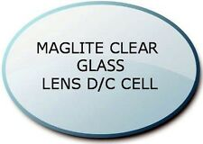 MAGLITE LENS D/C Cell Clear Mineral Glass Torch Flashlight