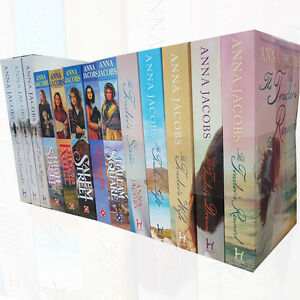 Anna Jacobs A Time for Renewal 13 Books Collection Set High Street,Trader's Drea 9789123602438