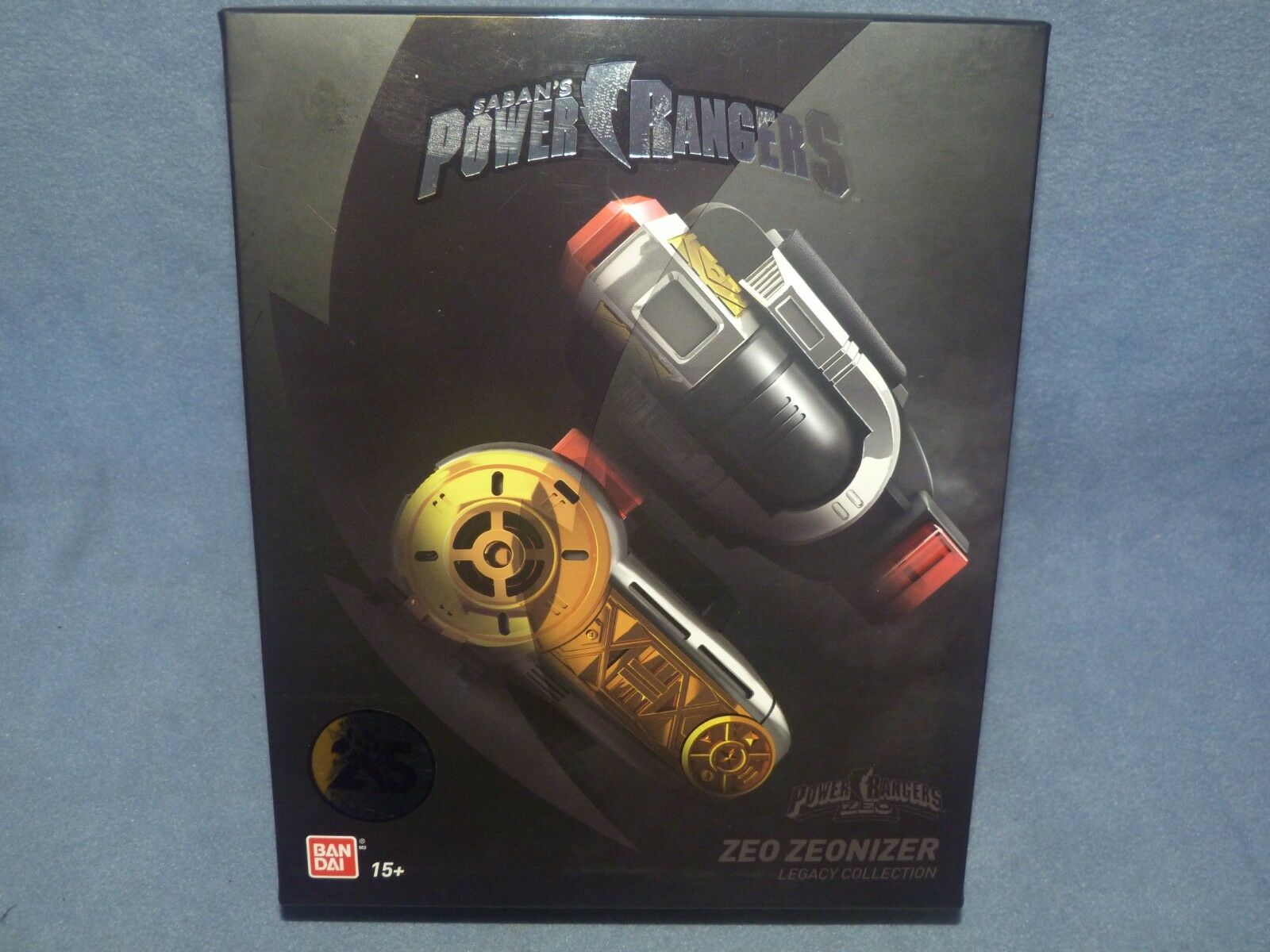 POWER Rangers Zeo Legacy zeonizer Morpher Set-Nuovo di Zecca