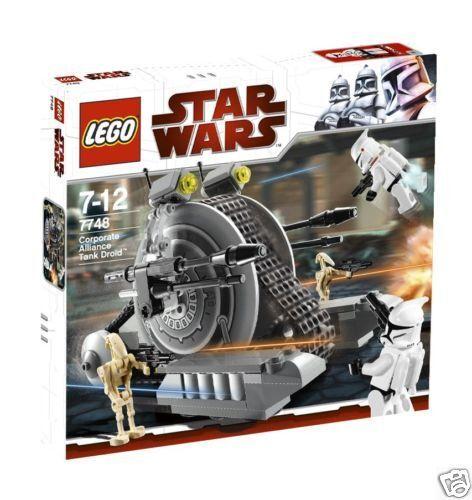 7748 Corporate Alliance Tank Droid Star wars lego New légos Set RETIrouge NEUF