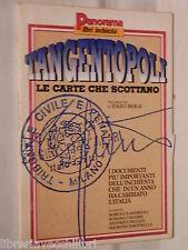 TANGENTOPOLI Le carte che scottano A cura di Marcella Andreoli Romani Cantore