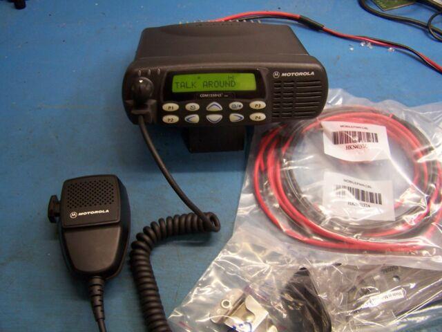 Motorola CDM1550LS+ VHF 136-174MHz  25 Watt 16 Channel AAM25KHF9DP5AN