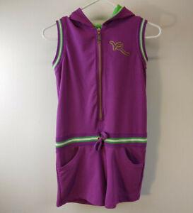 Rocawear-Romper-Purple-Green-Size-L-Jumper-Short-Pants-F52