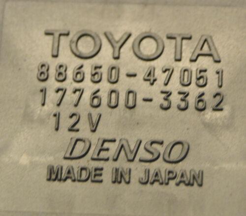 Toyota Prius AC Control Unit 88650-47051 Prius 1.5 Hybrid 2004-2008