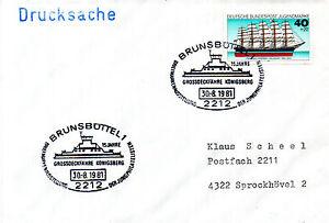 Capable Allemand Navire à Passagers Fs Konigsberg Un Des Navires En Cache Cover-afficher Le Titre D'origine Ventes Bon Marché