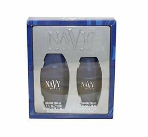 NAVY-for-Men-by-Dana-1-7-oz-cologne-splash-1-0-oz-cologne-spray-SET-NIB