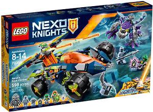 Lego Nexo Knights - 70355 Grimpeur / Aaron's Rock Climber Max Nouveau et Surp.