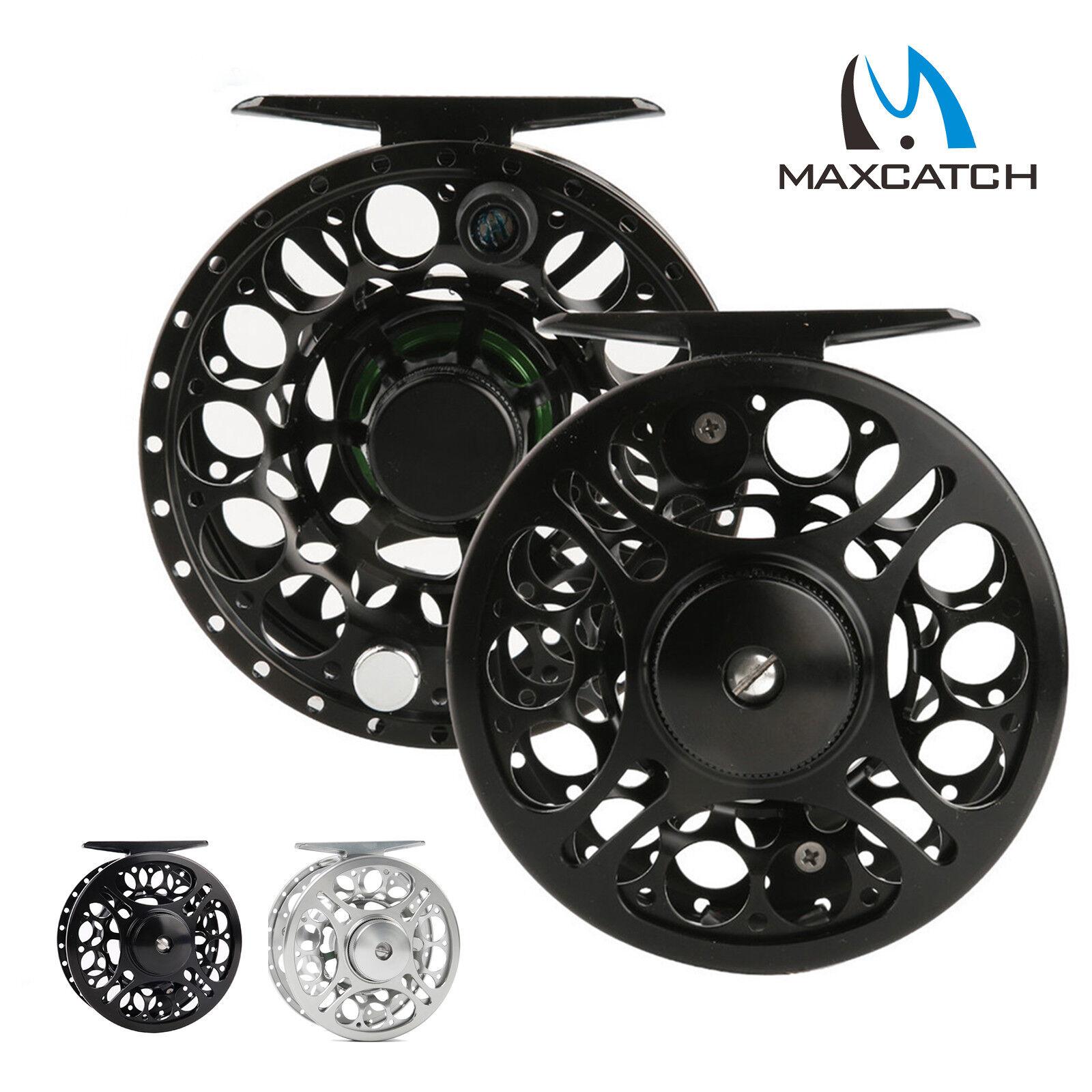 Maxcatch Fly Reel 2 3 3 4 5 6 Imperméable 7 8WT usiné CNC en aluminium