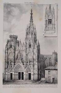 Basilique-Notre-Dame-De-L-039-Epine-Chalons-Champagne-Gothic-Alexandre-of-Sommerard