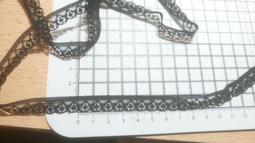 3m negro encaje de corte para acabado borde ancho 11mm