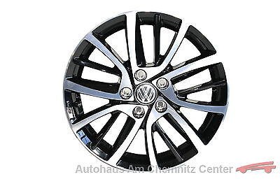 NEU Original VW Leichtmetall-Felge Alu-Felge 7Jx17ET49 Blade schwarz 1 Stück