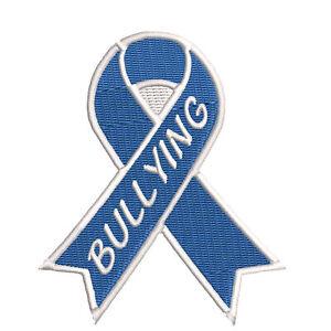 Anti Bullying Blue Awareness Ribbon 3 5