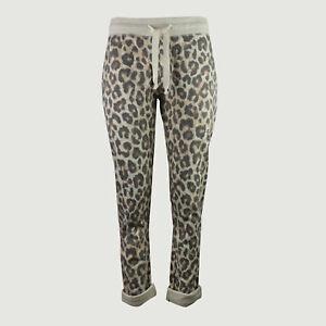 JUVIA Sweatpants ecru Slim Fit 830 00 065 Gr L XS