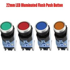 22mm Latching Switch Led Illuminated Onoff Power Button Supplies Push Button
