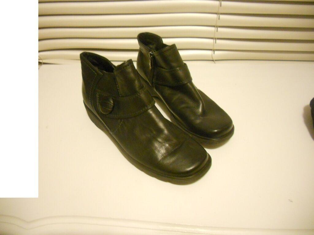 Ara GermanyArt To WearAdair Lightweight Bl Ltr Ankle Stiefel 38.5/8US/5.5UK