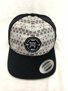 finest selection 94afe 7cff7 ... ebay image is loading hooey hat aztec print black osfa snapback style  ed786 665ea