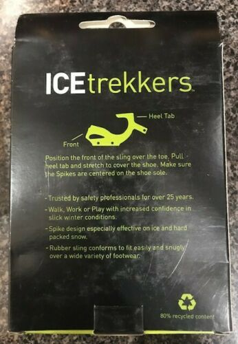 New ICE Trekkers Spikes size Medium//Large