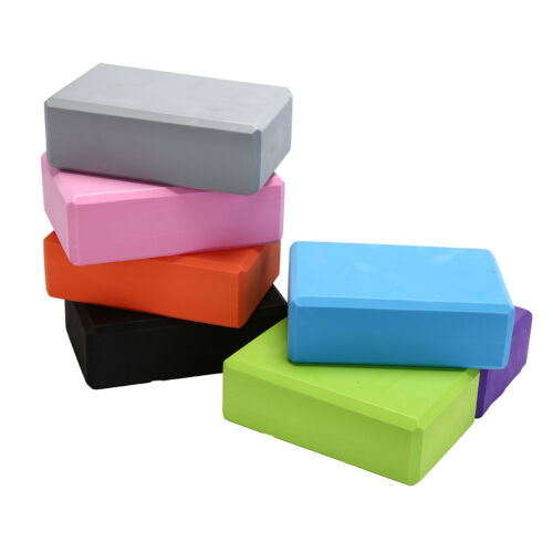 yoga block exercise fitness sport props foam brick stretching aid pilates JB