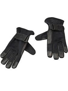 Hooligan-Handschuhe-Lederhandschuhe-Old-H-Gloves-Schwarz-5028