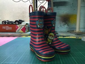 best supplier brand new good quality Details about PAW Patrol Boys Rubber Rain Boots Infant Size 10 By Tu At  Sainsburys