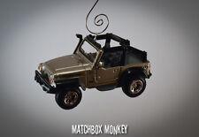 Custom 2003 Jeep Wrangler Rubicon Unlimited Christmas Ornament 1/43 Adorno SUV