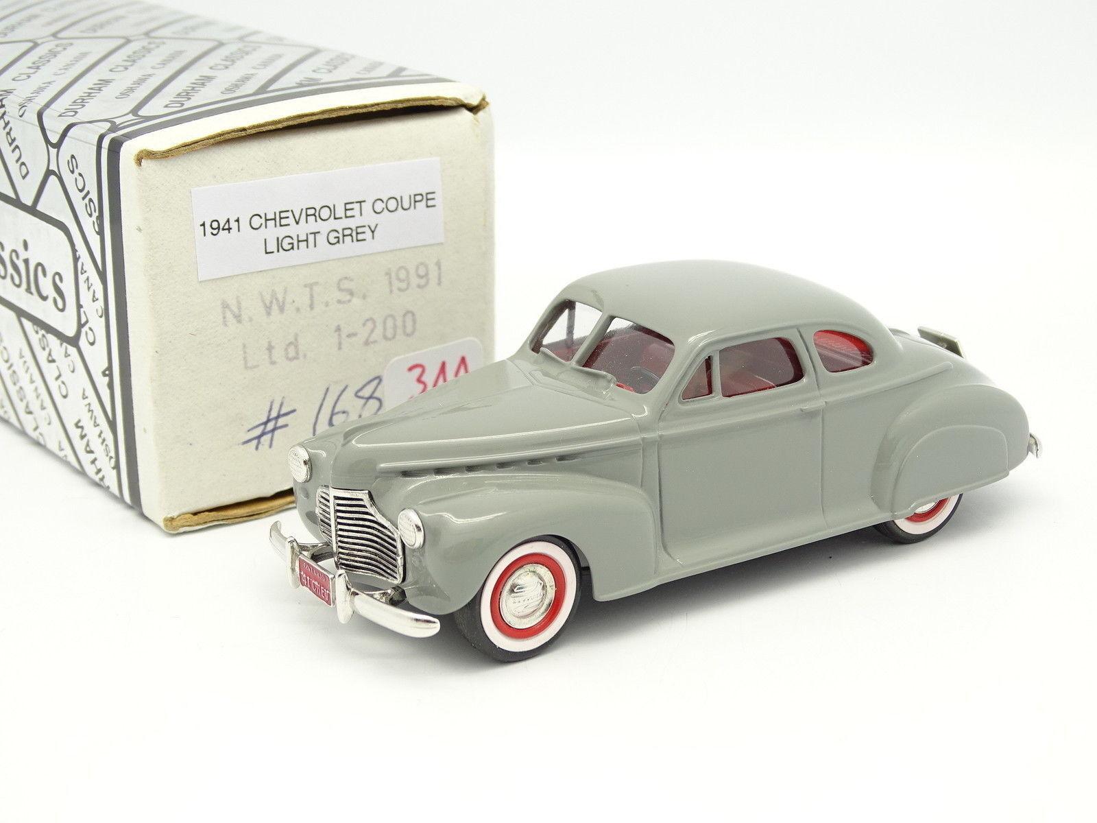 Durham classics 1 43 - CHEVROLET coupé 1941 grau nwts 1991