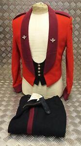 Genuine-Vintage-British-Army-Issued-Parachute-Regt-3PC-PARA-Mess-Dress-Suit