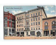 ST721: WONDERLAND NICKELODEON IN HOTEL LE RAY WATERTOWN NY  Circa 1910 Postcard