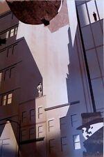 Rorschach's Journal Watchmen Ltd Edition Serigrafía Impresión por Edward Trompa