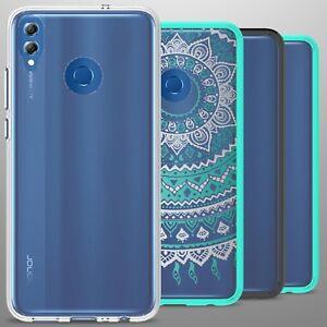 For Huawei Honor 8X Case Hard Back TPU Bumper Hybrid