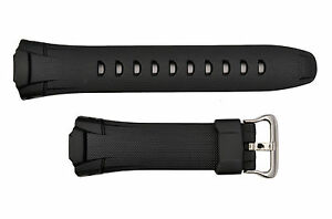 Fits CASIO GW500 G-Shock Black Rubber Watch Band Strap GW530 GW530A