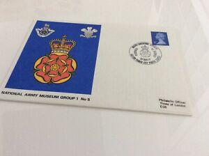 Commemorative Cover Queen's Lancashire Regiment Nam Groupe 1#5 25/03/71-afficher Le Titre D'origine