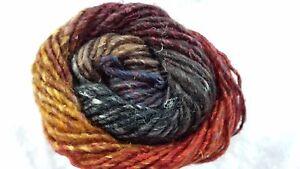 Noro-Silk-Garden-349-Burnt-Orange-Wine-Black-Taupe-Mix-50g