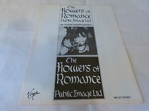 Public-Image-Ltd-Pubblicita-di-Rivista-Pubblicita-The-Flowers-Of-Romance