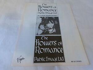 Public-Image-Ltd-Publicidad-de-Revista-Publicidad-The-Flowers-Of-Romance