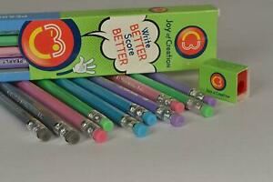 30x-C3-PEARLY-RUBBER-TIPPED-PENCIL-SUPER-DUNKEL-1-KOSTENLOSER-SPITZER