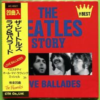 The Beatles Story: LOVE BALLADES mini LP Japan 20-track CD Sealed w/OBI Strip