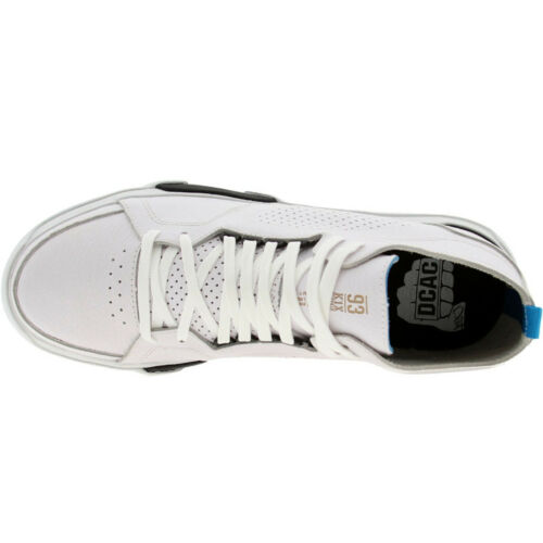 $99.99 K1X KIX Shoes 80s LE white black cyan 0063-1045