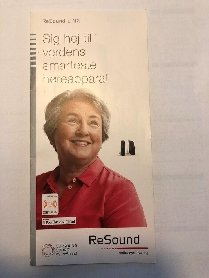 Høreapparat, GN Resound LINX