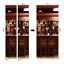 3D Wall Art Indoor Scenic Bar Door Sticker PVC Decal Self-adhesive Wrap Murals