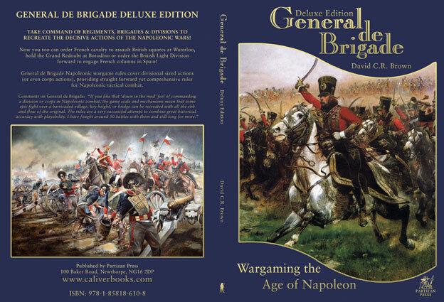 Général de de de brigade (couverture rigide) - partizan press-wargames rules-napoléonien 924c11