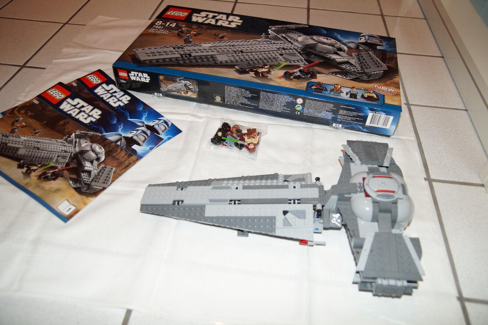 LEGO LEGO LEGO 7961 Darth Maul's Sith Infiltrator - komplett mit allen Figuren BA u. OVP c63efe