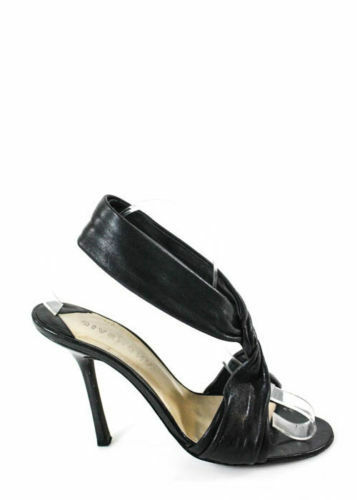 Origi. Luxus Givenchy Schwarze Sandaletten aus sehr weichem Leder  Gr.39 LP.0